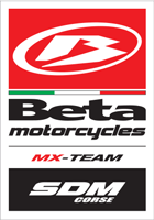 SDM CORSE MX-TEAM Beta Motorcycles MXGP Team Motocross